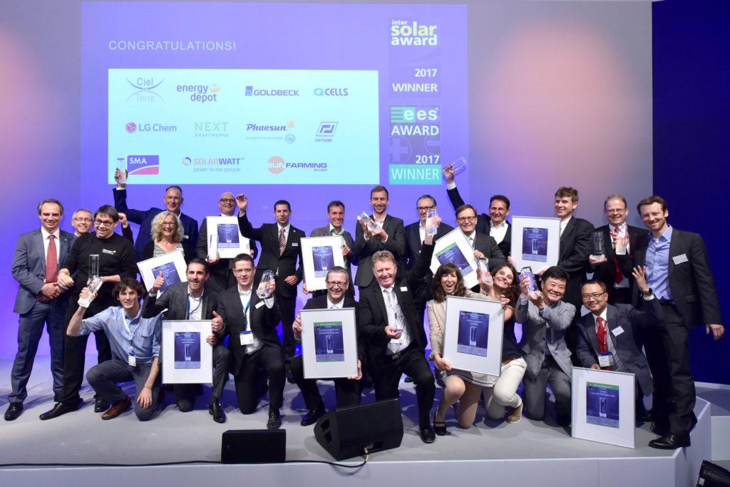 Intersolar AWARD und ees AWARD_Winners